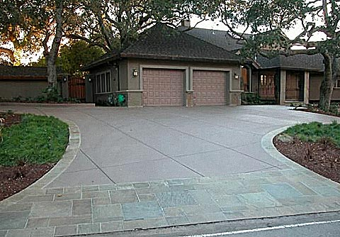 Residential Concrete Parking Pad